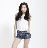 2015夏季新款韩版时尚迷彩短裤修身提臀女式中腰牛仔裤