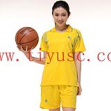 深圳梅林关口 新款篮球女款队服 运动训练背心球服