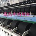 供应21支黑色再生棉纱 拖把用纱 再生棉花纱
