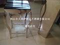 完美焊接不锈钢非标制品 不锈钢酒店桌子 古铜色角几批发价格是多少