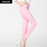 春夏季薄款韩版女装外穿打底裤子女士修身显瘦小脚铅笔裤女裤长裤