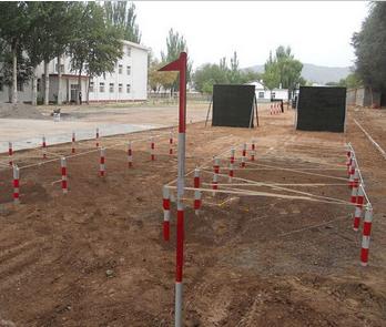 湖南消防训练器材厂家部队400米场地铺设