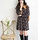 韩版女装 2015春季韩版新款收腰碎花小立领连衣裙