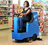 容恩驾驶式洗地机R-QQ|小型驾驶式电瓶洗地机R-QQ