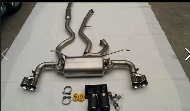 排气管价格_宝马三系排气管改装中尾段带阀门批发