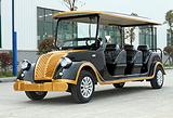 15新款电动老爷车,八座观光看房车国内首发