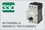 C3-CONTROLS电动机保护断路器330系列