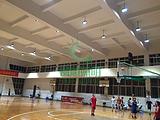 篮球馆顶部布置LED灯具照明方案