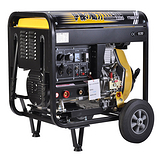 YT6800EW柴油发电焊机参数图片