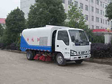 厂家直销国四标准庆铃五十铃道路清扫车1.5立方水箱,4立方垃圾箱