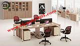 供应顺义定制办公家具ZS-PF107款职员办公桌价格