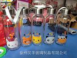 280ml热销手提玻璃杯,厂家直销玻璃水杯,高档水杯生产商