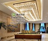 售楼中心灯具,销售中心水晶灯,售楼部灯具定制,沙盘水晶灯具定制