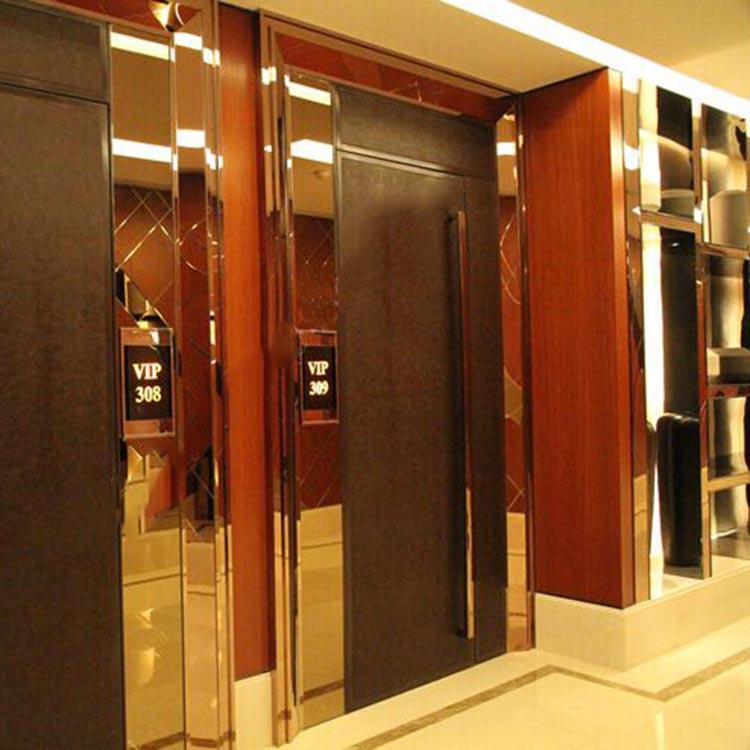 上海浦东不锈钢 电梯门套 包板 包边 门框 图片