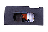 奥迪A6专用车载保险箱密码箱电子密码锁工具箱杂物箱