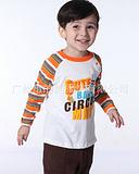 玛米玛卡男T恤 2014春装长T批发 玛米玛卡休闲男上衣 长套男T恤