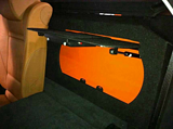 宝马X6专用汽车储物箱车载保险箱密码箱