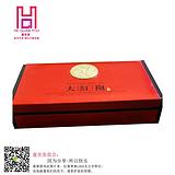 大红袍茶叶包装纸质茶叶盒定做东莞茶叶礼盒生产厂