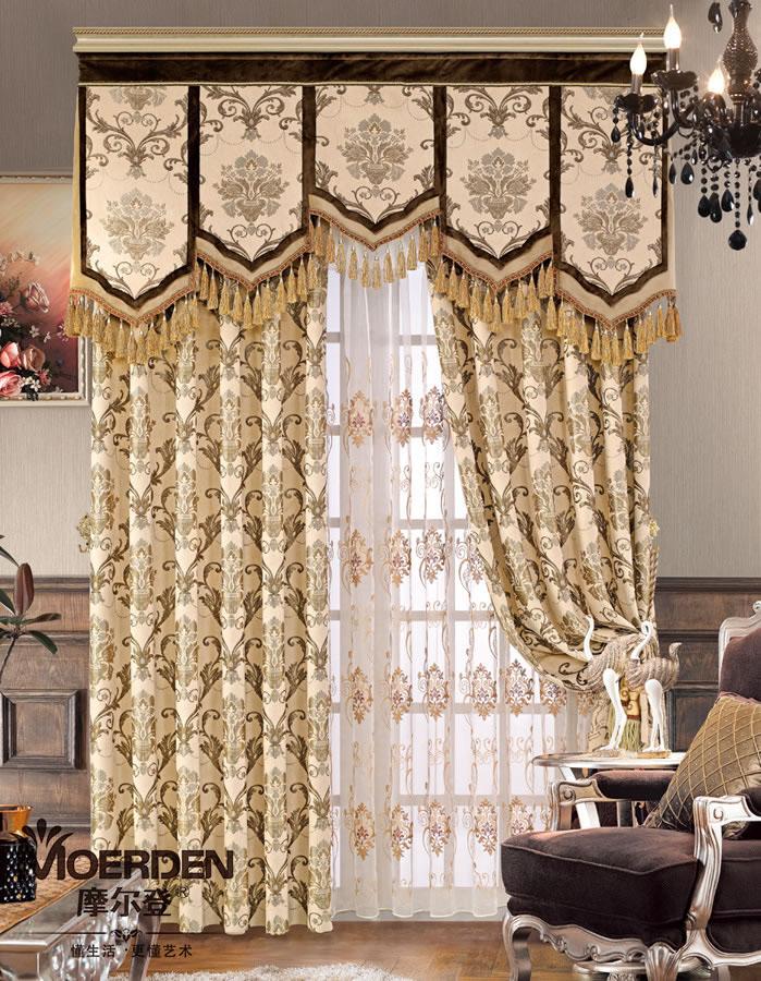 窗帘价格_卧室窗帘 高档定做欧式窗帘布艺 遮光现代