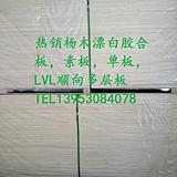 山东诚林热销杨木漂白胶合板,素板,夹板,LVL顺向多层板