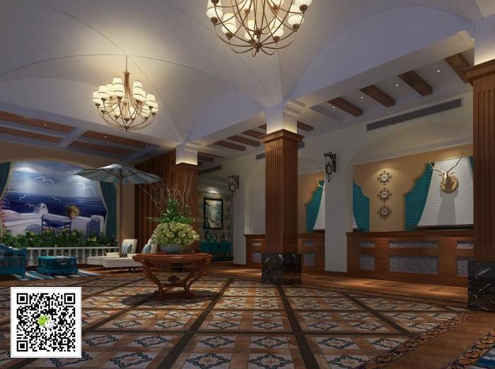 地中海主题酒店设计