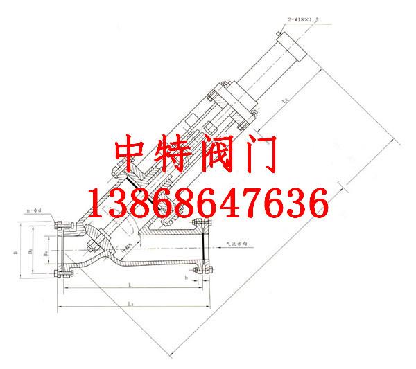 结构特点及用途: 本阀适用于高炉热风炉系统煤气排压管道,作为系统均压用是一种密闭性阀门,采用液压驱动,橡胶密封,故阀门启闭迅速平稳,密封可靠。该阀也可用于其它气体或液体管道起切断作用。 主要性能: (1)公称压力:0.25MPa (2.) 适用介质:半净煤气 (3.)适用温度: 200 (4)主要零件材质:碳钢 YJ741Y型截止阀-均压阀主要外形及连接尺寸表: