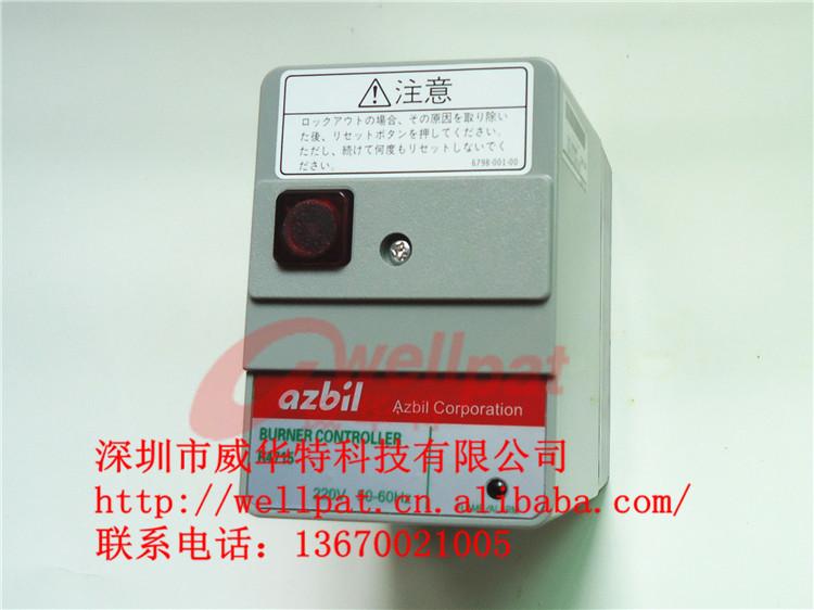燃烧机配件 日本azbil山武程控器r4715b220控制盒