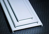 铝合金条板、铝合金条形扣板天花