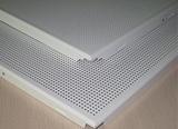 铝合金穿孔方形板、铝合金穿孔吸音板
