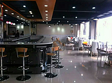 涮涮吧台呷哺呷哺吧台可拆装吧台移动吧台可以定做黑钢