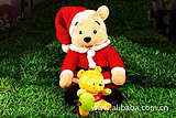 东莞玩具厂定制圣诞出口玩具 卡通圣诞熊毛绒玩具 圣诞雪人