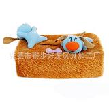 东莞玩具厂家定制生活系列毛绒纸巾盒套 卡通创意毛绒 批发