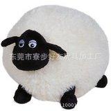 厂家直销定制肖恩羊毛绒 胖绵羊毛绒公仔 抱枕玩具大量批发