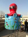 金山机械制造大章鱼大型室外游乐设备大章鱼