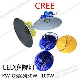 户外防水LED庭院灯80W 60W 100W 90W 圆形庭院灯