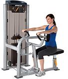 美国必确PRECOR-C019ES坐姿划船器 专业力量训练器材 健身房器材