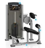 美国必确PRECOR-C011ES背肌伸展器 专业力量训练器材 健身房器材