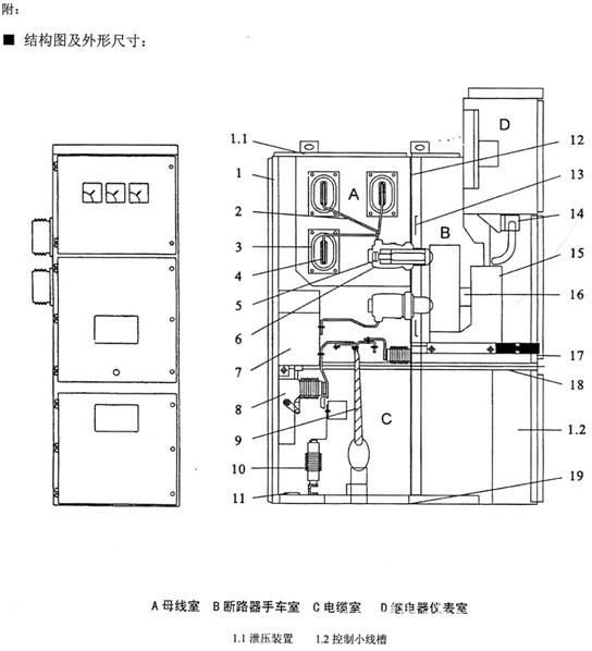 kyn28-12高压开关柜|kyn28-12中置柜壳体