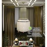 会所水晶吊灯,别墅客厅水晶吊灯,现代工程水晶灯,工程水晶灯定制