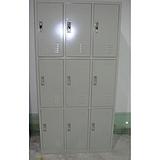 生产销售铁皮储物柜,双开门储物柜价格,9门员工储物柜厂家直销