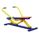 中老年户外健身设施供应地埋不锈钢更防盗