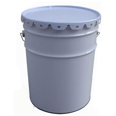 25l油漆铁桶,抱箍化工铁桶,圆形25升工业铁罐