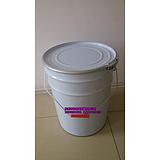 4.5L装液体铁罐,5KG/公斤手提涂料铁罐,圆形5升装胶水铁罐