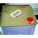 9L-10升机油铁桶,小口正方形铁罐,机油嘴化工铁桶
