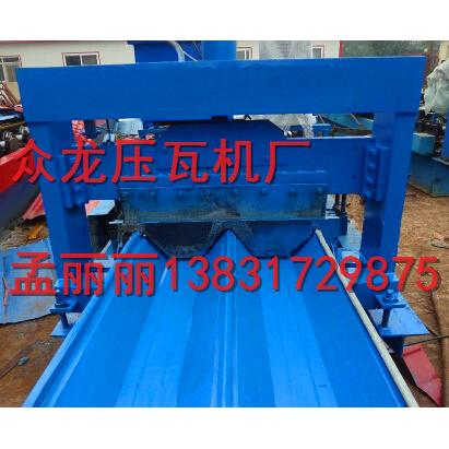 价格成型金属设备_v价格666型角驰压瓦机众龙样品板册图片