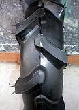供应农用人字纹轮胎 7.50-16 尼龙胎 斜交胎