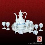 景德镇陶瓷酒具厂生产陶瓷酒具套装传达友谊首选礼品