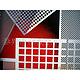 不锈钢冲孔筛板加工,冲孔筛板,防护网板制造