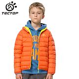冬季新款 保暖外套 男童女童糖果色 儿童款羽绒服批发 YW510