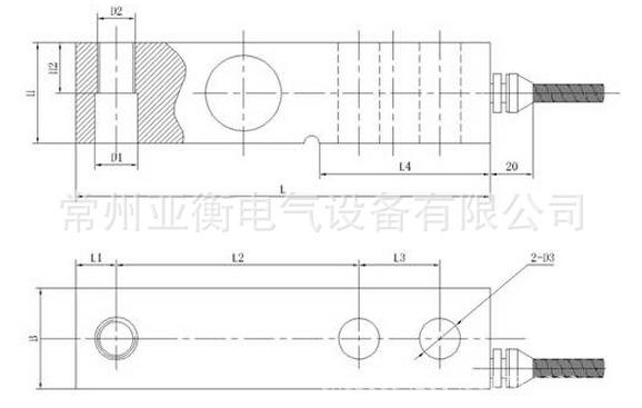【厂家直销】亚衡sqb-0.5吨高精度称重传感器重力传感器